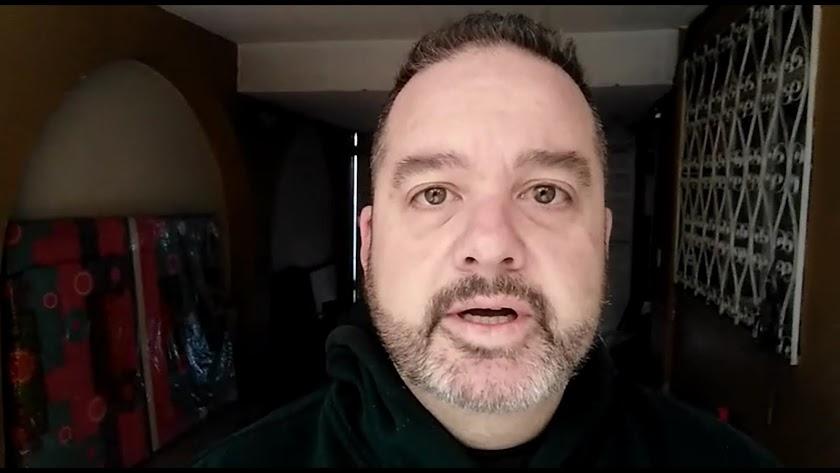 Jorge Soler, en un vídeo difundido por las redes sociales.