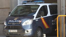 La Policía traslada al Supremo a Sànchez, Junqueras y Cuixart
