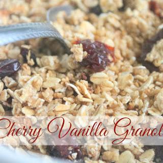Cherry Vanilla Granola