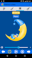 Screenshot of Brahms' Lullaby for babies