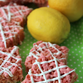 Pink Lemonade Rice Krispy Treats