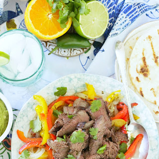 Grilled Margarita Steak Fajitas Recipe