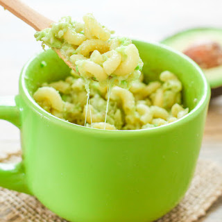 Avocado Macaroni and Cheese in a Mug Recipe