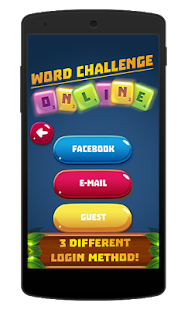 Word Challenge Online - Game - náhled