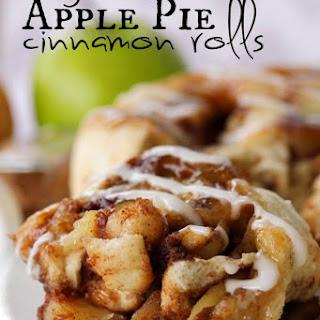 Easy Apple Pie Cinnamon Rolls.