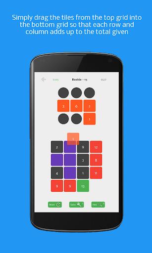 Griddition - Math Puzzle