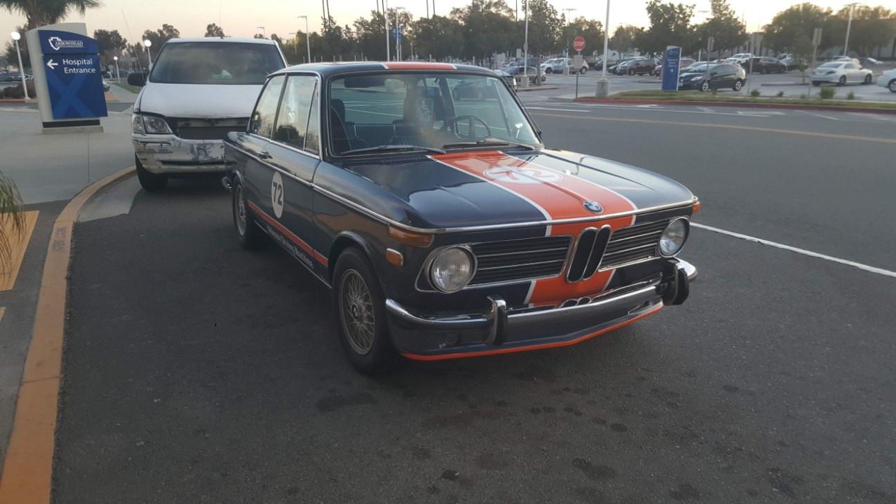 BMW 2002tii Hire Rialto