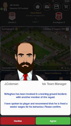 Club Soccer Director - Soccer Club Manager Sim 2.0.8e screenshots 8