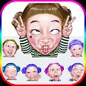 Funny Faces Emoji Stickers icon