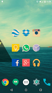 Iride UI is Hipster Icon Pack v2.03