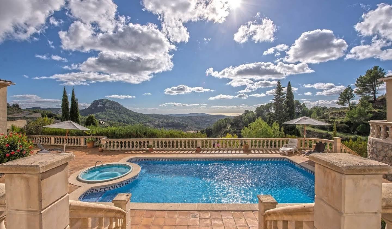 Villa avec piscine Búger