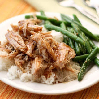 Slow Cooker Pork Roast with a Sweet Tangy Glaze.