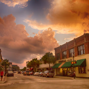 Historic Beaufort Downtown by Keith Wood - City,  Street & Park  Historic Districts ( beaufort, kewphoto, downtown, historic, keith wood )