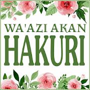 Wa'azi Akan Hakuri