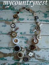 Photo: collana con bottoni vintage, modello ricco