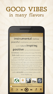 Solaris Music App — uplifting indie-folk music- screenshot thumbnail