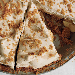 Banana Rum Cream Pie