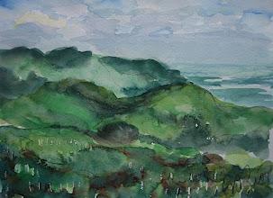 Photo: Paisaje de Cuba desde el mirador de Soroa, 18 x 24 cm, 2007, 220 €
