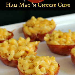 Ham Mac and Cheese Cups {Gluten-free}