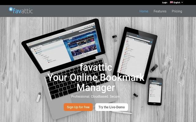 Bookmark Manager - favattic.com