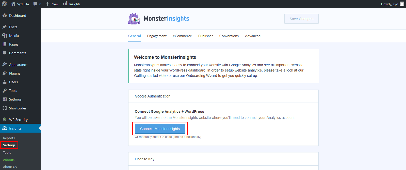 Cara setting Analytics menggunakan plugin WordPress