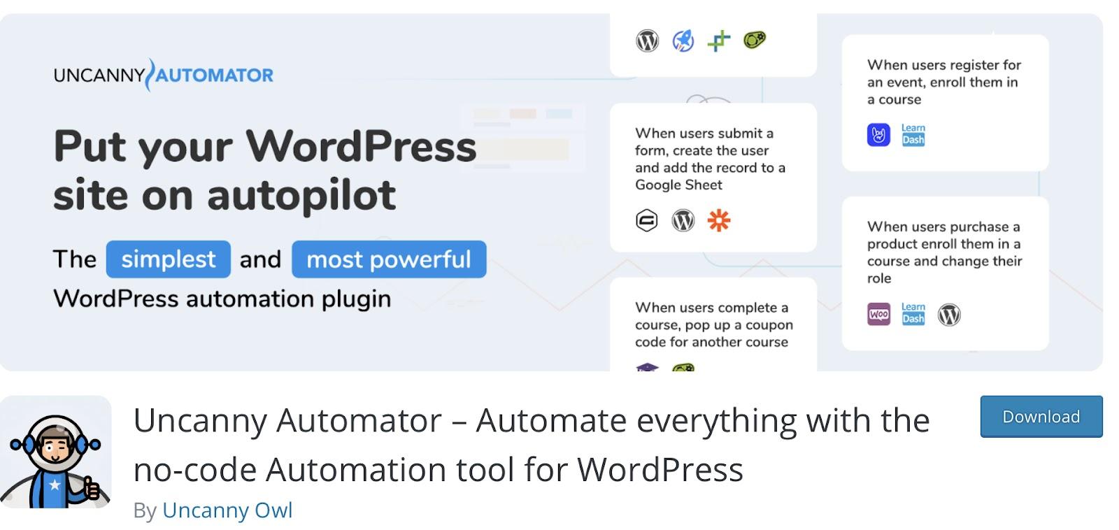 Uncanny Automator WooCommerce Plugins