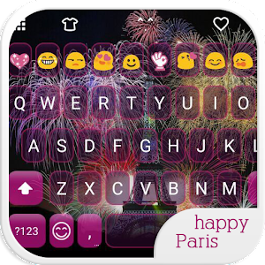 Happy Paris Emoji Keyboard download