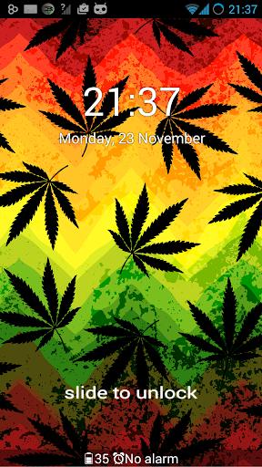 無料个人化AppのGO Locker Theme Weed Ganja|記事Game