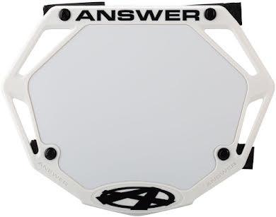 Answer BMX 3D Mini Number Plate alternate image 0
