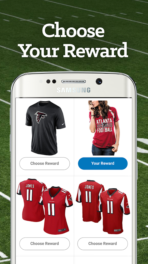 Atlanta Football Rewards- screenshot