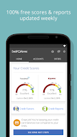 Screenshot of Credit Karma