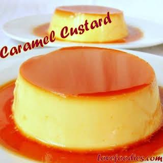 Silky Smooth Creme Caramel.