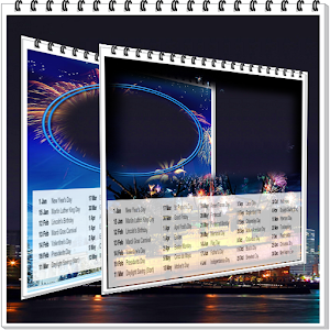 Calendar 2018 photo frames wallpaper
