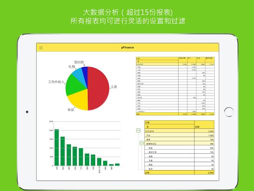 玩財經App|pFinance - 个人理财、家庭预算、家庭会计、财务分析免費|APP試玩