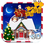 3D Merry Christmas Theme Icon