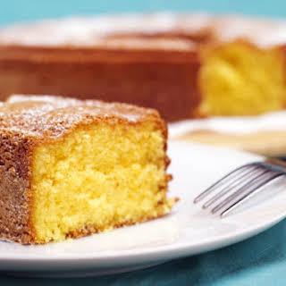 Lemon Pudding Chiffon Cake.