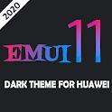 Dark Emui-11 Theme for Huawei icon