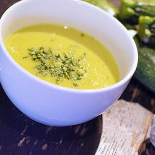 Silky Gingered Zucchini Soup.