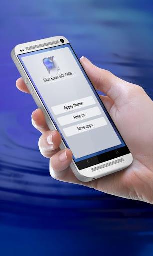 蓝眼睛 GO SMS