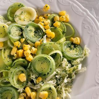 Lauch-Chinakohl-Salat