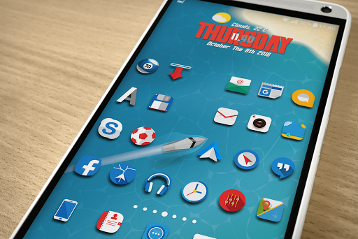 Oniron 2 icon pack Apps for Android screenshot