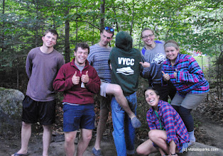 Photo: Silly VYCC at Big Deer State Park by Nicole Olmstead