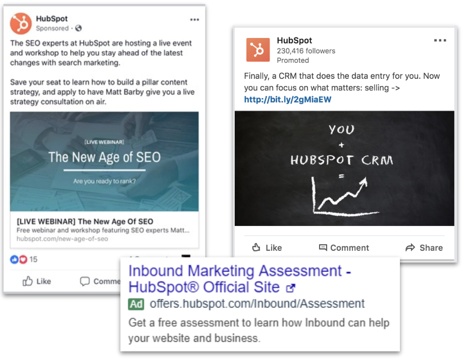 Image result for hubspot ad