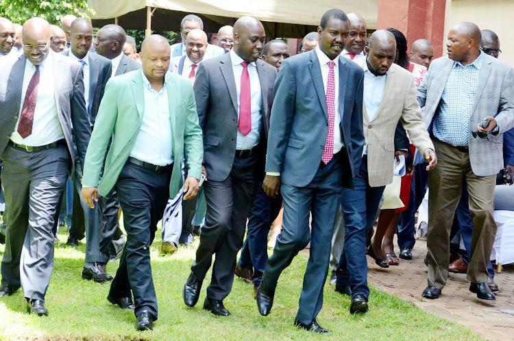 Kalenjin leaders