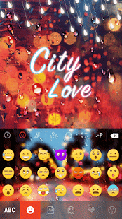 City-Love-Emoji-Keyboard-Theme 1