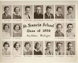 Photo: 8th grade graduating class of 1956