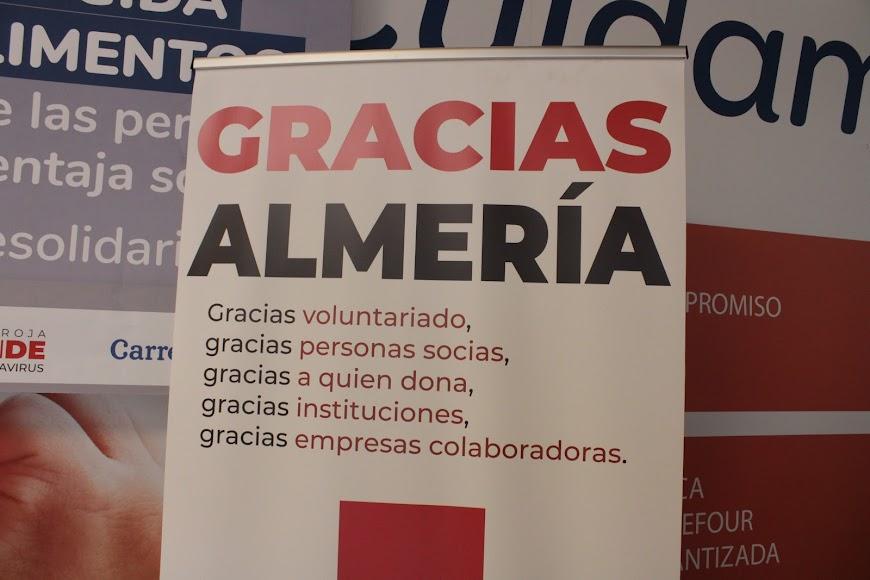 Cartel de agradecimiento a participantes y empresas colaboradoras.