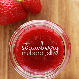 Strawberry Rhubarb Jelly.