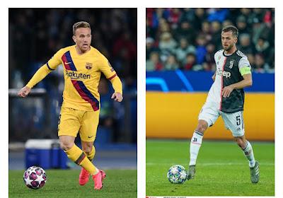 Barcelona en Juventus ronden gigantische miljoenendeal af: Arthur en Pjanic ruilen van club