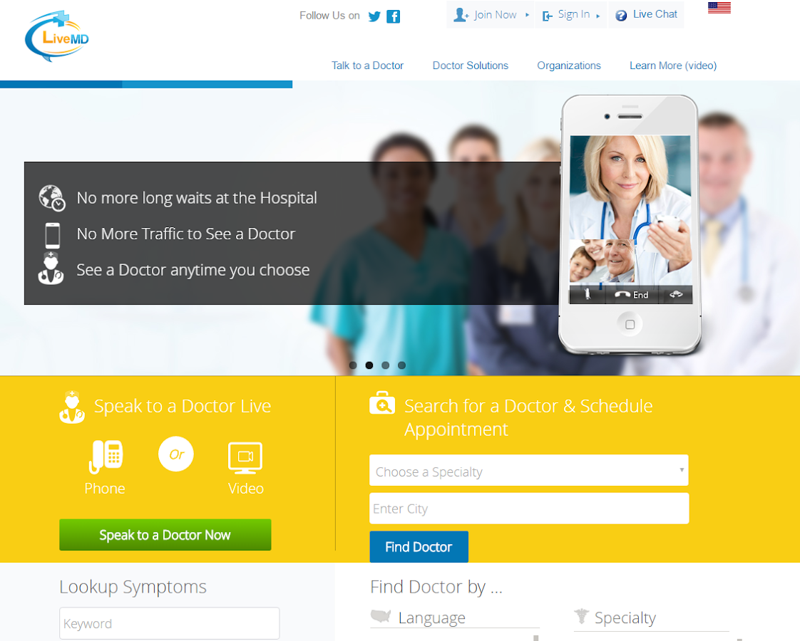 LiveMD - Talk to a Doctor- screenshot